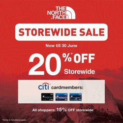 [The North Face] THE GREAT SINGAPORE SALE IS HERE!