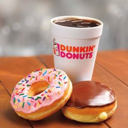 [Dunkin' Donuts Singapore] It's Global Donut Day tomorrow, and we are celebrating with a FREE* donut with the purchase of any Dunkin'