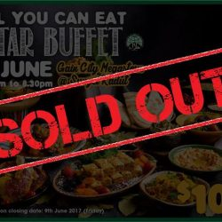 [Gain City] We are all out of tickets to this Sunday's Iftar Buffet at the Gain City Megastore @ Sungei Kadut!