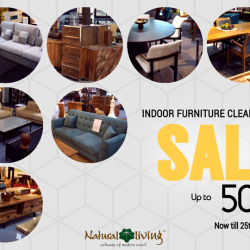 [Natural Living] FINAL WEEK for our indoor furniture clearance!
