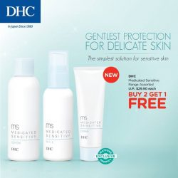 [Watsons Singapore] Sensitive skin preventing you from finding the right skincare range?