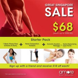 [Amore Fitness] June may be over but our GSS deal is still going on!