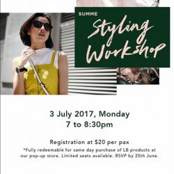 [Love, Bonito] Find your perfect fit and cut with confidence at our Love, Bonito Styling Workshop - Summer Special!