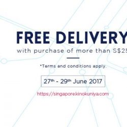 [Books Kinokuniya] Free Delivery with purchase of S$25 and above on Singapore Webstore.