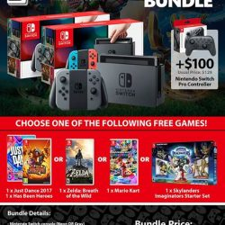 [GAME XTREME] Switch Choice Bundle Promotion【PROMO DURATION】 While Stocks Last【DETAILS】 Get the Nintendo Switch at the new lowest price of