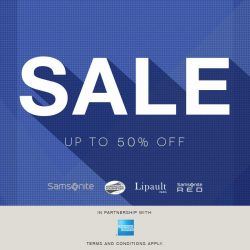 [Samsonite] The Great Singapore Sale is back!