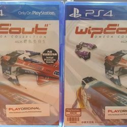 [Funco Gamez] New Arrival: PS4 Wipeout Omega Collection~!