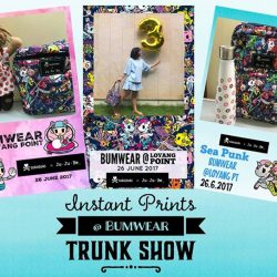 [Bumwear] We're super excited to offer Instant Printing Service at our Trunk Show next Monday and we've especially designed