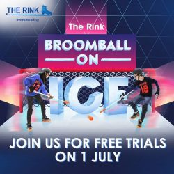 [THE RINK] Broomball on Ice Challenge is back this year!