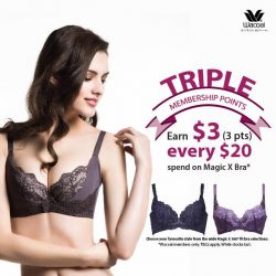 [Wacoal] The Wacoal Magic X 360° fit bra promotion is here!