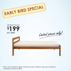 [Scanteak] Quality bed frame at just $199?