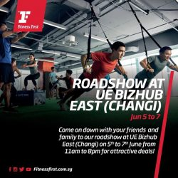 [Fitness First] ROADSHOW AT UE BIZHUB: Time to make that fitness dream a reality!
