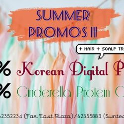[Hair Plus Korean Salon] Continuing our summer promos, enjoy 20% off Korean Digital Perm for July only!
