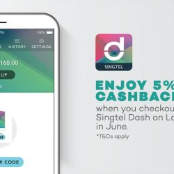 [Lazada Singapore] Singtel Dash is now offering 5% cashback 💰 when you checkout with Dash on Lazada.