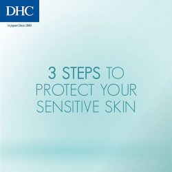 [Watsons Singapore] The latest DHC Medicated Sensitive skincare range helps to maintain and protect the moisture in the horny layer of your