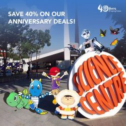 [Elements @ Play by Science Centre Singapore] Turning 40 does have its perks; come celebrate with us and save up to 40% with our Anniversary Deals!