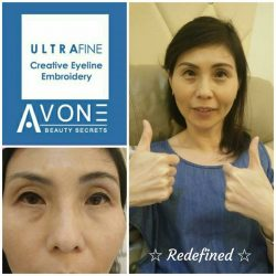 [AVONE BEAUTY SECRETS] Double thumbs up for our Embroidery Specialist Celyn from our JEM Team!