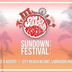 [SISTIC Singapore] Tickets for Sundown Festival 2017 goes on sale on 29th June.