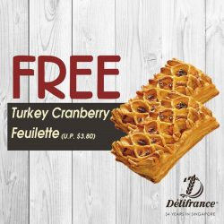 [Delifrance Singapore] Thanks for your love towards Delifrance!