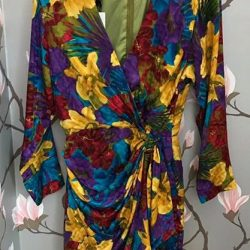 [Déjà Vu Vintage] GSS SCORE OF THE DAY: Don't miss this vintage silk dress at our once a year sale!