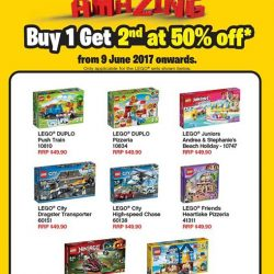 [Bricks World (LEGO Exclusive)] Get 50% off on 2nd LEGO® set (Normal RRP: $49.