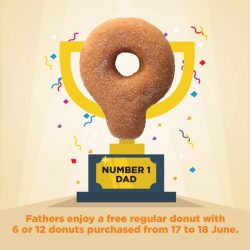 [Dunkin' Donuts Singapore] Dads, we are celebrating you this weekend!