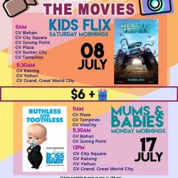 [Golden Village] Treat your BOSS BABY 💼 to these 2 AWESOME POPPIN' movies!