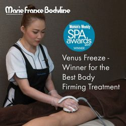[Marie France Bodyline] We are so honoured to have our Venus Freeze Treatment awarded for the best Body-Firming Treatment by Women's