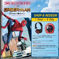 [NEX] Looking to bag yourself a pair of exclusive Spider-Man™: Homecoming headphones?