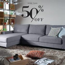 [Cellini] ROSS L-Shape Sofa: GSS SEASON SALE - NOW S$1,399 (U.
