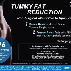 [CSK® Aesthetics] Reduce tummy fat now with TwinSculpt!