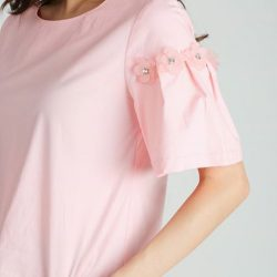 """[MOSS] Shop """"ROSELIA TOP IN PINK"""" in ours Extra 10% off* on GSS Online Sale!"""
