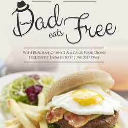 [O' Coffee Club] Make a date with Dad this weekend and celebrate Father's Day with us at O'Coffee Club!