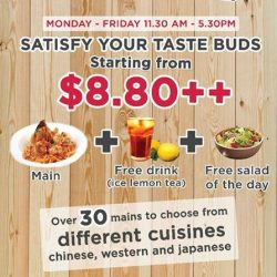 [MOF @ MY IZAKAYA & AMASOY] From $8.