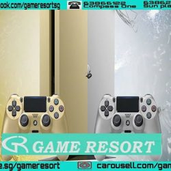 [GAME RESORT] Days Of Play Deal,PS4 500GB Slim Local Console Gold & Sliver,Price: $399.