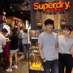 [Superdry] throwback to our Denim Event recently.