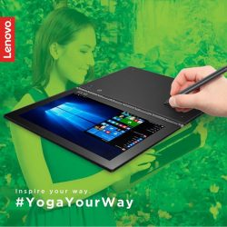 [Lenovo] What if you could draw freely on your device just like you do on your favourite sketchbook?