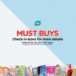 [Watsons Singapore] Enjoy BUY 2 GET 1 FREE MIX AND MATCH deals on your favourite picks across participating brands like Scholl, Ebene