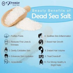 [Dead Sea Premier] What can Dead Sea Salt can do to your skin?