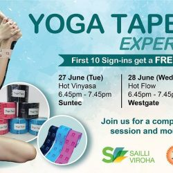 [Platinum Yoga] First 10 Check In Will Get A FREE Yoga Tape + Yoga Tape Demo (check out the booth).