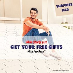 [Hush Puppies Outlet / Antton & Co. Outlet] Surprise Dad this Father's Day!