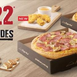 [Pizza Hut Singapore] Enjoy a Free 4pcs sides on us, when you pick 2 regular pizzas with our 2-for-$22 deal!
