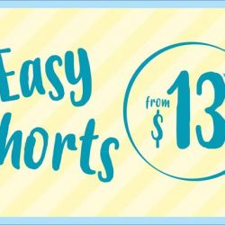 [Bossini Singapore] Keep cool in the Singapore weather with Bossini Singapore's easy shorts from $13!