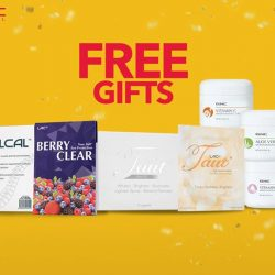[GNC Live Well Singapore] Pick your own FREE Gift!