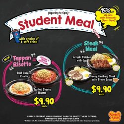 [PEPPER LUNCH] Come by to enjoy an exciting & fun time with your squad this school holiday!