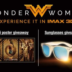 [Shaw Theatres] Watch WONDER WOMAN in IMAX 3D and be rewarded.
