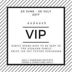 [audaash] Come join our audaash family!