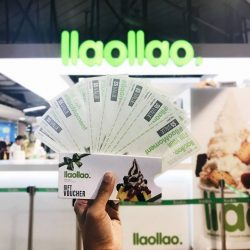 [llaollao Singapore] Good news!