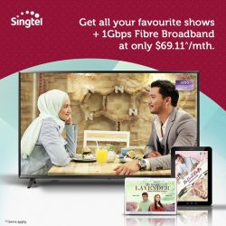 [Singtel] Want to enjoy the best Malay dramas and variety shows wherever you are?