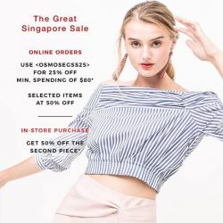 [OSMOSE Singapore] GSS MAYHEM | The most anticipated sale is here!
